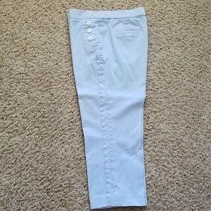 Counterparts Blue and White Capri Pants